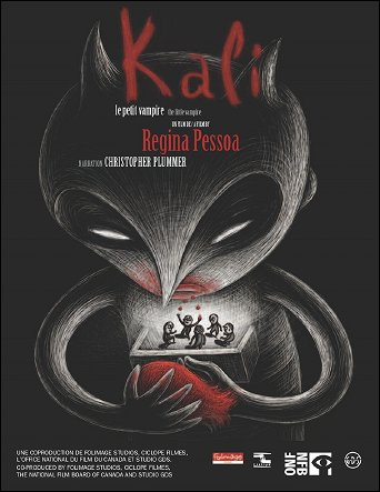 KALI LE PETIT VAMPIRE - un film de Regina PESSOA (Portugal - 2012) - Affiche du film