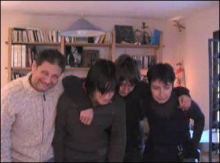 VOEUX 2009 de Corinne, Martin, Simon & Eric LHERITIER (France)