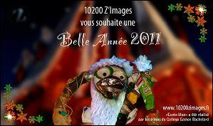 Voeux de l'année 2011 par 10200 Z'images (France)