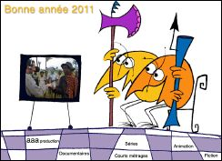 VOEUX 2011 de AAA Productions (France)