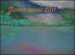 VOEUX 2011 de Jacques DHELLIEZ (France)