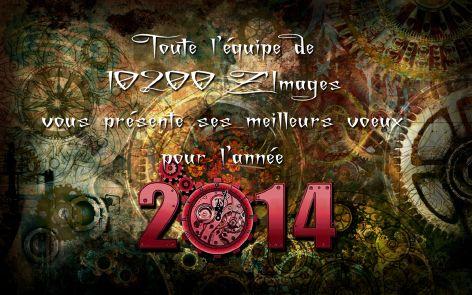 Voeux de l'année 2014 par 10200 Zimages (France)