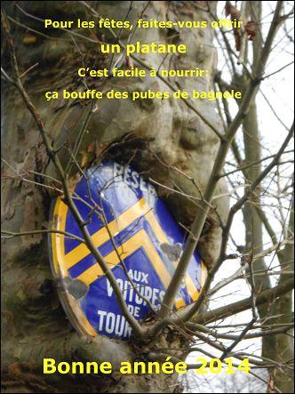 Voeux de l'année 2014 par Pierre CHEVRIER (France)