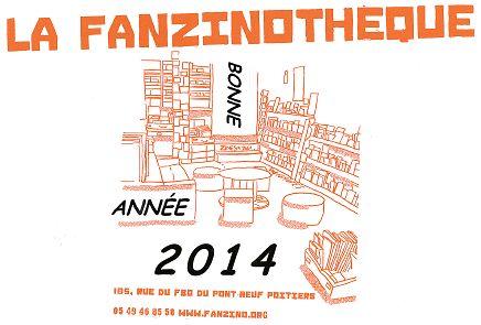 Voeux de l'année 2014 par La Fanzinothèque (France)