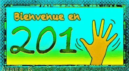 Voeux de l'année 2015 par Agnès KERBORIOU (France)